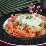 Broccoli Cream Pasta #easy and #healthy #vegetarian-style broccoli and pasta #recipe http://yummytastykitchen.com/broccoli-cream-pasta/