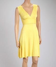 Another great find on #zulily! Buttercup Empire-Waist Dress #zulilyfinds