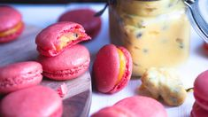 Macaroons, Doughnut, Food And Drink, Sweets, Snacks, Baking, Desserts, Cakes, Macaroni