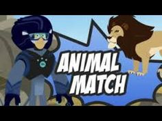 Wild Kratts Animal Match Cartoon Animation PBS Kids -Match animals from different habitats. Play Wild Kratts Animal Match Game