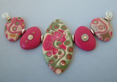 polymer clay beads | bead button bead dreams 2007 second place polymer clay category