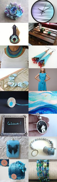 Blue Fusion by Angie Bisset on Etsy--Pinned with TreasuryPin.com