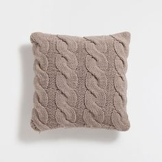 TRICOT KNIT CUSHION COVER