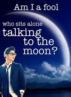 Talking to the Moon- Bruno Mars (My unofficial theme song to Red/Wolf)