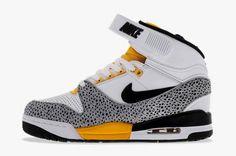Nike Air Revolution White/Black Grey University Gold • Highsnobiety