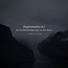 Drapetomania (n.) via (http://ift.tt/2sgUEFY) for some reason this appeared at a perfect timing.