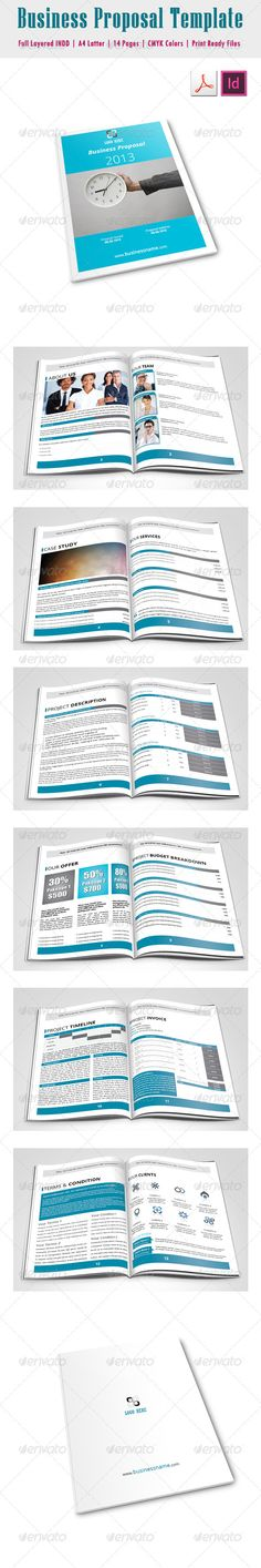 Proposal Template Proposal templates and Business proposal - proposals templates