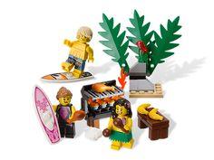 LEGO Minifigure Accessory Pack #850449 Hawaiian Luau