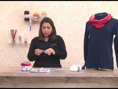 Gola em trico com Cisne Cake com Cristina Amaduro - YouTube