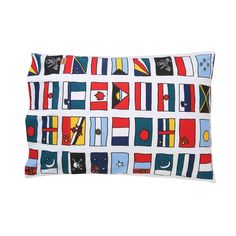 SS16 Fly the Flag Cotton Pillow Case - SS16