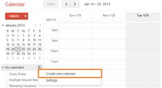 How to create an editorial calendar for free using Google Calendar