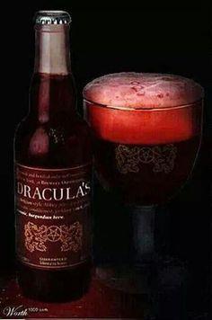 Dracula's Beer. Vampire. Vampires