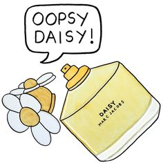 Marc Jacobs Daisy illustrated by Angelica Hicks