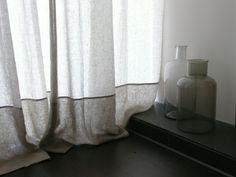 Stunning curtains - belgium linen...