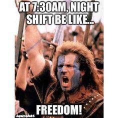 Freedom! 100 Funniest Nursing Memes on Pinterest – Our Special Collection #nursebuff #nursememe #nurses