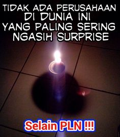 00:40 26 september 2014 malam Jum'at mati lampu...