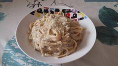 Tallarines con salsa de setas, calabacín y atún. para #Mycook http://www.mycook.es/receta/tallarines-con-salsa-de-setas-calabacin-y-atun/