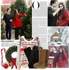 """Happy Christmas"" by mafalda98 ❤ liked on Polyvore"