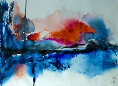 Abstract Watercolor Artwork   Flickr: Intercambio de fotos