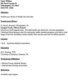 Medical Surgical Nurse Resume Psychiatric Nurse Resume Sample  Httpresumesdesign