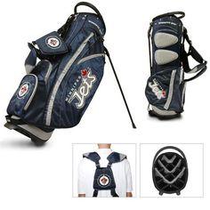 Team Golf Winnipeg Jets Fairway 14-Way Stand Golf Bag