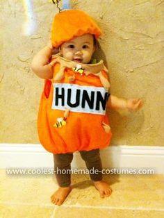 Homemade Baby Honey Jar Costume