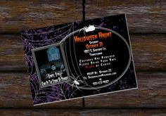 Check out this item in my Etsy shop https://www.etsy.com/listing/249215109/halloween-party-birthday-haunt-spider