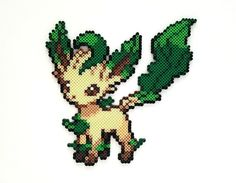 Your place to buy and sell all things handmade Perler Bead Designs, Hama Beads Design, Perler Bead Art, Pokemon Perler Beads, Pearler Beads, Motifs Perler, Perler Patterns, Rockruff Pokemon, Perler Beads