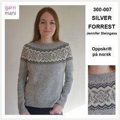300-007 SILVER FORREST – NORSK OPPSKRIFT – Garnmani.no