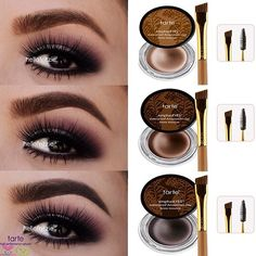Check out our collection of eye and lip makeup forms. You will find it, Fabulous makeup is so simple to have. Makeup Tips, Beauty Makeup, Makeup Trends, Makeup Ideas, Competition Makeup, How To Draw Eyebrows, Drawing Eyebrows, Brow Pomade, Beauty Book