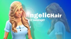 """Dear fans , Today i will give you my favorite hair """"AngelicHair"""" Meus queridos fans , Hoje vou dar-vos o meu cabelo favorito """"AngelicHair"""" AngelicHair.1- Download AngelicHair.2- Download"""