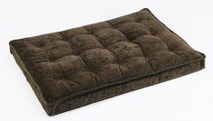Bowsers 8038 Luxury Crate Mattress Dog Bed, Small, Chocolate Bones ** Discover this special dog product, click the image : Dog crates Dog Pillow Bed, Animal Pillows, Bones, Mattress, Chocolate, Dog Beds, Boating, Luxury