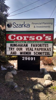 Corso's Restaurant, North Olmsted, Ohio