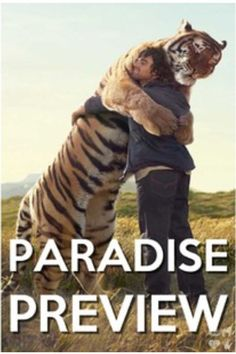 Paradise! I WILL HAVE A PET TIGER IN PARADISE!! What a wonderful life this will be!!!!