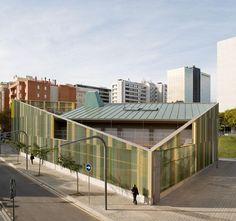 Espinet Ubach Arquitectes, Xiroi kindergarten, Barcelona, Spain. Photography ©pegenaute