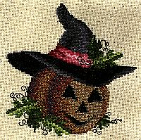 "cross-my-heart-stitch: Happy Jack"" pattern found here! cross-my-heart-stitch: Happy Jack"" pattern found here! Fall Cross Stitch, Cross Stitch Kits, Cross Stitch Designs, Cross Stitch Patterns, Cross Stitching, Cross Stitch Embroidery, Hand Embroidery, Embroidery Patterns, Cross Stitch Freebies"