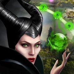 Discover the untold story with the Maleficent Free Fall Game! Come play with the power of Maleficent in the thrilling puzzler, Maleficent Free Fall! http://di.sn/hyP