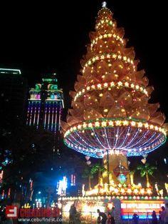 Fuente Osmeña Circle Tree of Hope Christmas Cebu City, Christmas Tree, Spaces, Holiday Decor, Teal Christmas Tree, Xmas Trees, Cebu, Christmas Trees, Xmas Tree