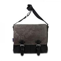 mynewbag.de - #CAMP DAVID University Peak #Messenger Bag #Umhängetasche schwarz 38 cm