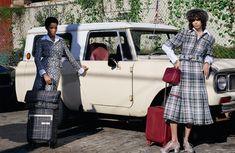 Lineisy Montero and Mica Arganaraz in Chanel's Spring 2016 Ad Campaign.