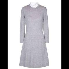 Robe à manches longues en laine Comptoir des Cotonniers