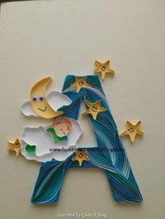 ©Tablo- ABCs quilling (Searched by Châu Khang)