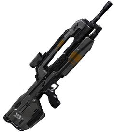 Halo 4 Art & Pictures,  UNSC Battle Rifle