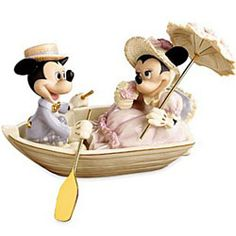 Disneyana - The values of Disney figurines increase through time because of the strong collector demand.
