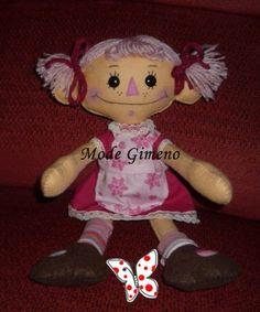 Fresita. Rag Doll, by Mode's Dollys.