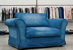 Ahhh a denim chair and a half - LOVE it