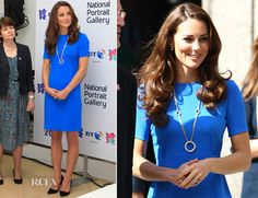 Catherine, Duchess of Cambridge In Stella McCartney - 'Road to 2012 Aiming High' Exhibition Opening
