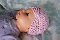 Newborn Butterfly Hat- Crochet Pattern