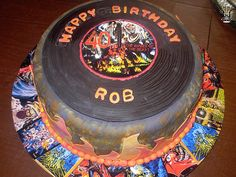 Amazing Iron Maiden Cake by Creative Confections by Jenn, via Flickr