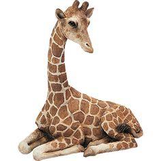 Found it at Wayfair - Original Size Sculptures Giraffe Figurine